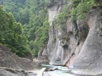吹割の滝(遊歩道)