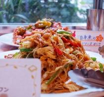 中華風焼きビーフン