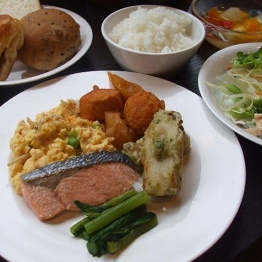 スーパーホテル松本駅前朝食