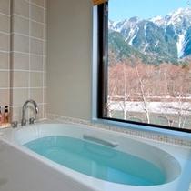 展望風呂付バスルーム