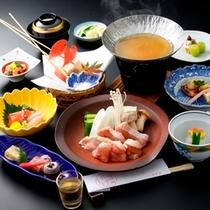 ◆信州ハーブ鶏鍋・一例