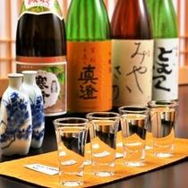 ◆地元の日本酒を多く揃えております
