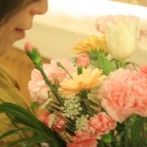 ◆花束も喜ばれております
