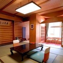 ◆【温玉荘】 松川渓谷が望めるお部屋