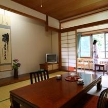 ◆本館 松川渓谷が望めるお部屋【10畳】