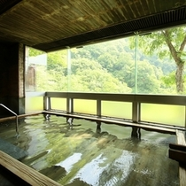 ◆広々とした内湯の大浴場