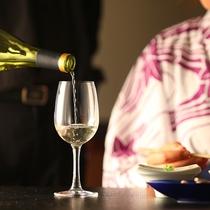 ◆地元のワインもご用意しております