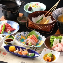 ◆【贅沢ご飯プラン】 地産地消のおもてなし