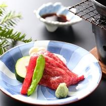 ◆【贅沢ご飯プラン】信州牛焼きイメージ