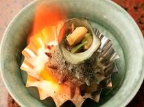 サザエの壺焼き