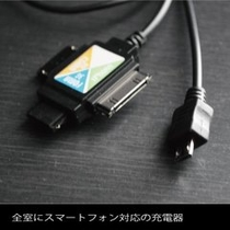 携帯電話(スマートフォン)用充電器
