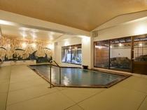 畳敷き大浴場