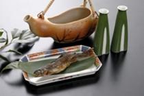 岩魚の骨酒(イメージ)
