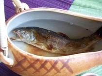 岩魚の骨酒