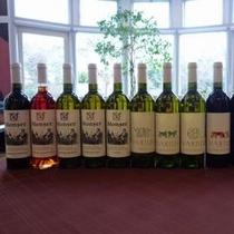 ルーマニアワインは7種あり、すべてグラスでもお楽しみいただけます♪