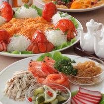 スタンダードプラン 中華お料理例