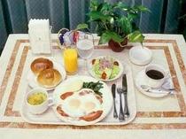 ご朝食◆卵料理がメインの洋食
