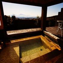 草 冬のお風呂