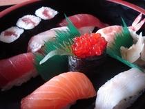 上寿司(一人前)オプション