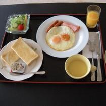 *【朝食】素材の本来の味を大切にしています。