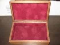 コンフォートルームではジュエリーボックスも用意しております。是非ご活用ください♪