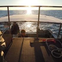 漁船からの景色