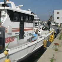 内藤屋の漁船