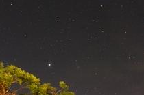 ヤンバルの星空を満喫してください。