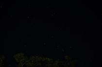 夜には星空が広がります。
