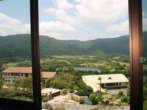 客室からの風景 イタリ水源を臨む景色をお楽しみ頂けます♪