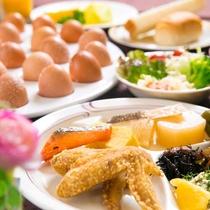地元名古屋の美味しいを朝食で♪『和・洋・中』約40種類!バラエティ豊か・ボリューム満点の内容です。