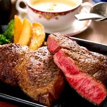 ■極上ステーキ御膳■味わう程旨味が増すA5ランクみかわ牛をドーンと300g食す幸せ♪