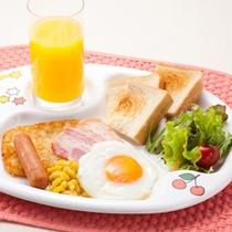お子様メニュー用  幼児(0〜3才)向け 朝食