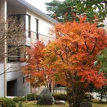 秋の箱根千代田荘