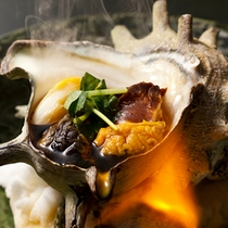 栄螺(サザエ)のつぼ焼き