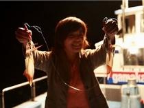 白イカ釣り