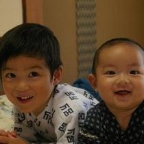 0歳〜2歳お子様笑顔