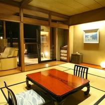 川の寮四季彩客室一例