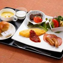 朝食一例【洋食セット】