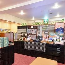 *【館内/売店】地元の名産品のほか、和風雑貨も取り揃えています