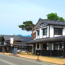*【牧之通り】当館より車で約10分。宿場町として栄えた「塩沢宿」で歴史に触れる旅を!