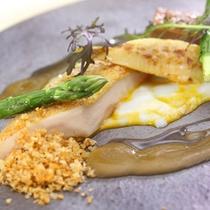 那須のフランス料理 メリメランジュ:スペシャリテ 栃木しゃもの全てを食す