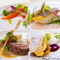 那須のフランス料理 メリメランジュ:ディナー ラ・ベルソワールコースイメージ