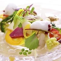 那須のフランス料理 メリメランジュ:スペシャリテ ファランドール・ド・レギューム