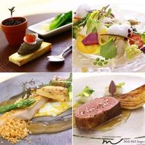 那須のフランス料理 メリメランジュ:ディナー  ル・クワテュオールコースイメージ