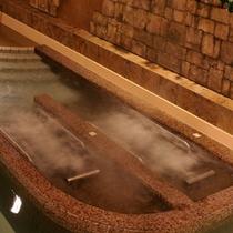 古代ビーチ寝湯