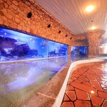 海底温泉「お魚風呂」2