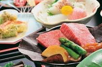 懐石料理 ステーキ芳葉焼 アップ