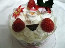 クリスマスサンタケーキ