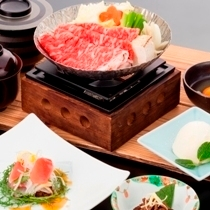 松阪牛祭り開催中♪すき焼き